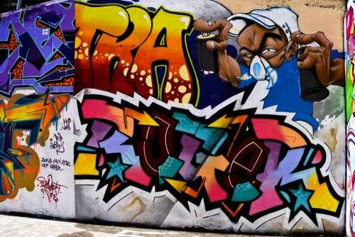 Graph Wall Artistic Graffiti Grafitti Street-Art