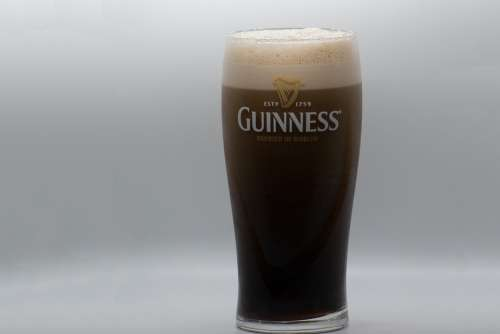 Guinness Beer Nitro Stout Pub Irish Ireland