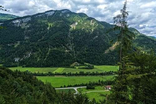 Hagertal Kössen Tyrol Austria Nature Alpine