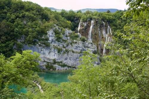Holidays Croatia Sea Lakes Plitvice Water Wild