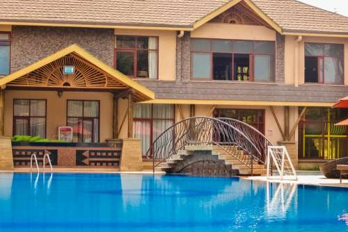Hotel Resort Pool Vacation Luxury Travel Holiday