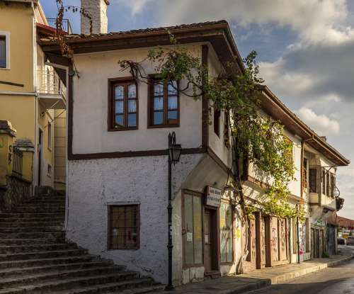 House Old Architecture Building Landscape Travel