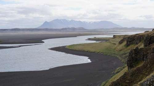 Iceland Water Landscape Nature Wilderness