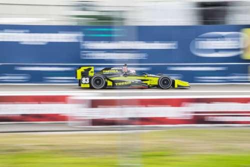 Indycar Racing Race Car