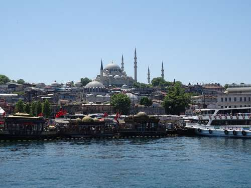 Istanbul Architecture City Tourism Travel Turkey