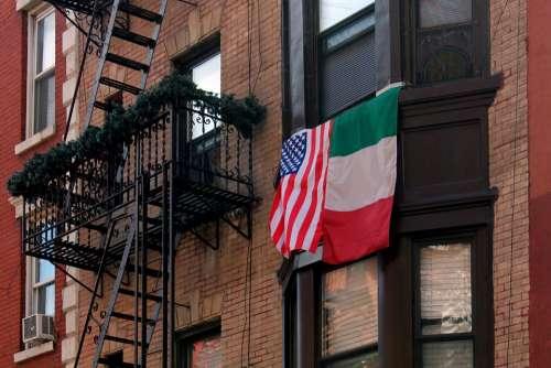 Italian Americans Italy Usa Nyc Manhattan