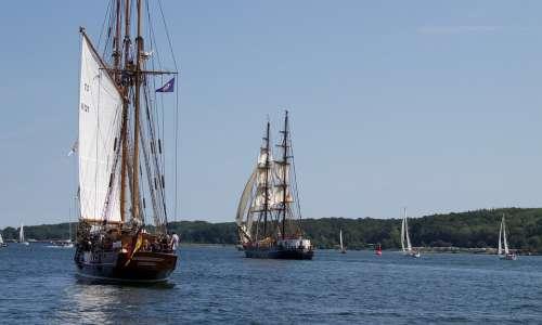 Kieler Firth Baltic Sea Kiel Mecklenburg Sea