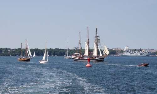 Kieler Firth Baltic Sea Mecklenburg Water Shipping