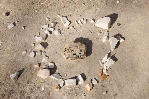 Kotel Kosel Jerusalem Israel Stone Painted Rock