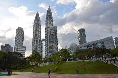Kuala Lumpur Petronas Towers Malaysia Skyscraper