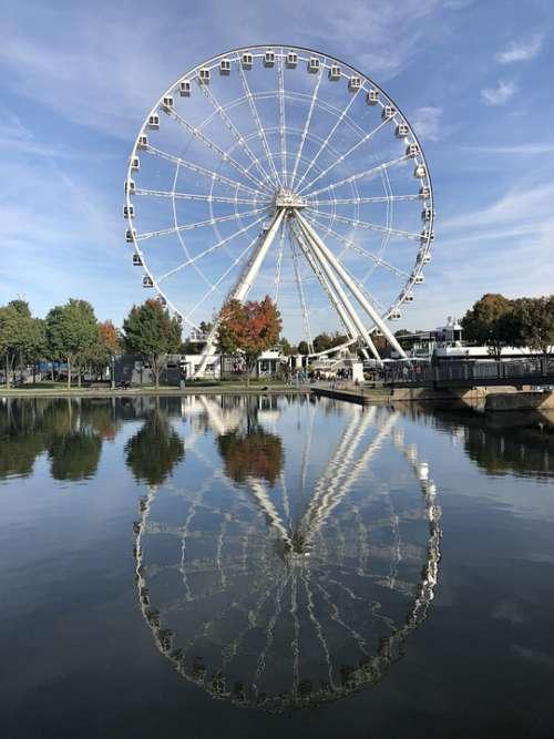 La Grande Roue Ferris Wheel Montreal Canada Park