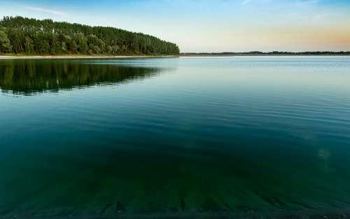 Lake Turquoise Landscape Water