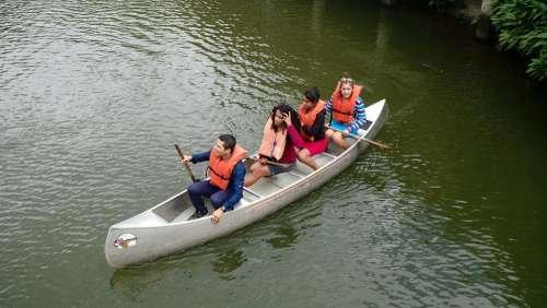 Lake Lagoon Kayak Boat Lifeguard People Safety