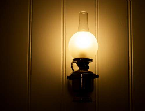Lamp Wall Lamp Light Lighting Shining Current