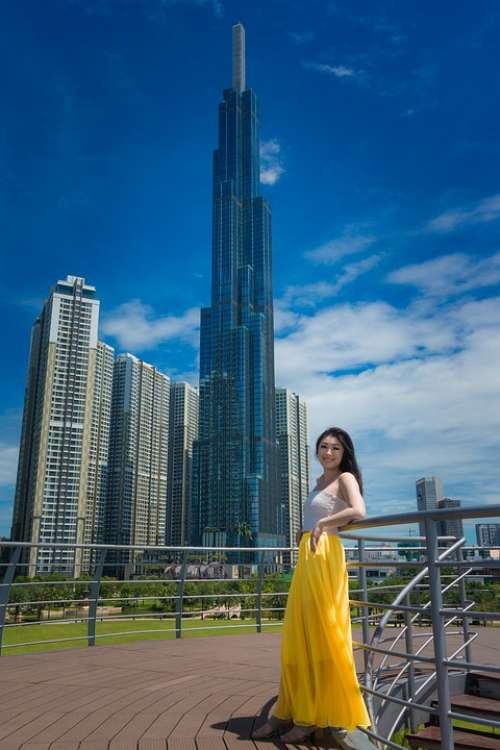 Landmark 81 Vietnam Korean Sky Skyscraper Tall