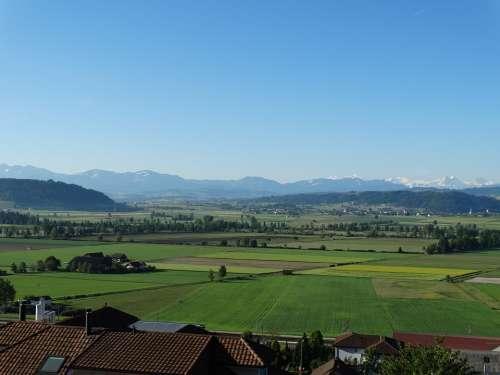 Landscape Wauwil Willisau Switzerland View
