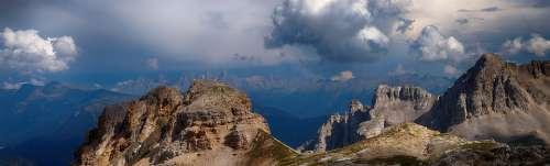 Latemar Dolomoiten Italy South Tyrol Mountains