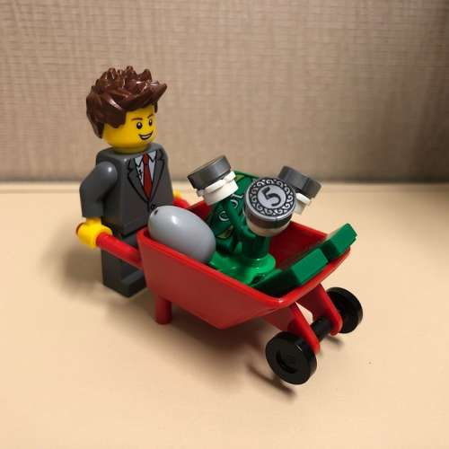 Lego Money Investing Finance Business Income