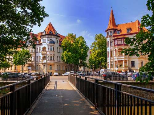Leipzig Architecture Building Road Nature Germany