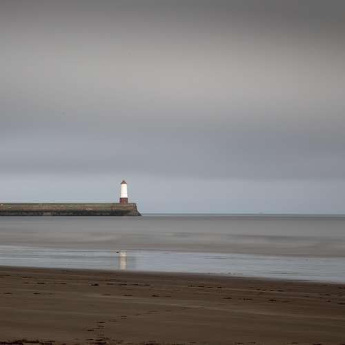 Lighthouse Coast Sea Ocean Water Sky Landscape