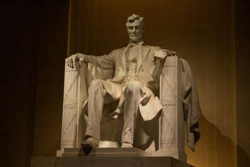 Lincoln Memorial Washington Dc America United