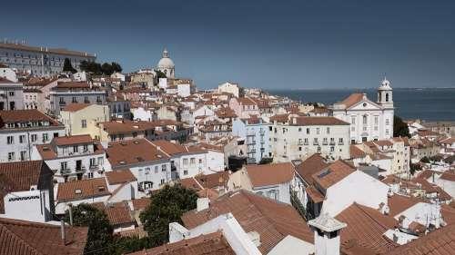 Lisbon Portugal Architecture City Lisboa Europe