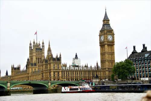 London Westminster England Landmark Uk Parliament