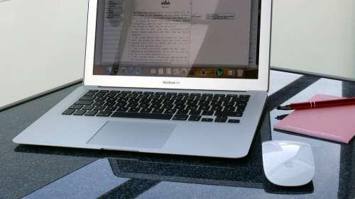 Mac Calculator Write Laptop Apple Notebook