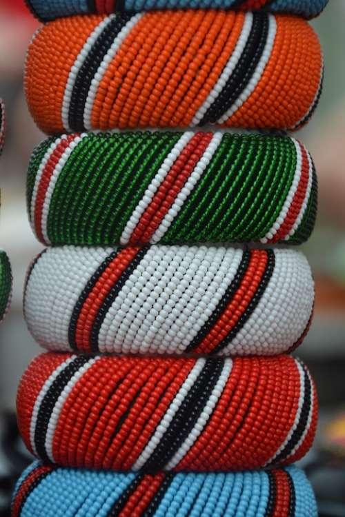 Massai Jewellery Africa Tradition Festival Culture