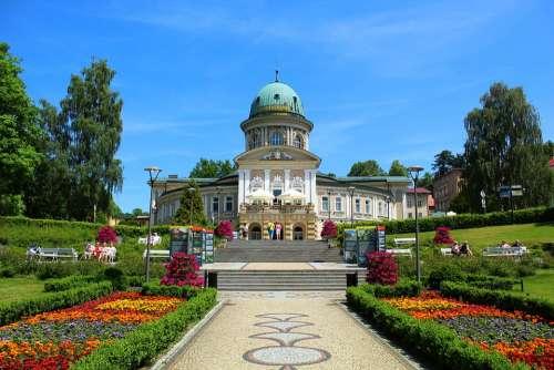Medical Spa Sanatorium Lądek-Zdrój Architecture
