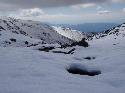 Mendoza Vallecitos Potrerillos Nubes Montañas