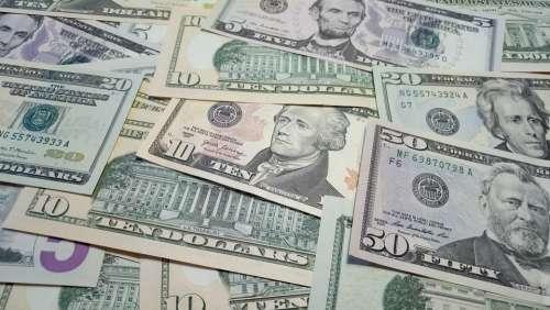 Money Bank Note Dollar Us-Dollar Currency Bills