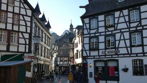 Monschau Eifel Germany Architecture House