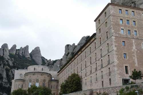 Montserrat Monastery Spain Religion Church