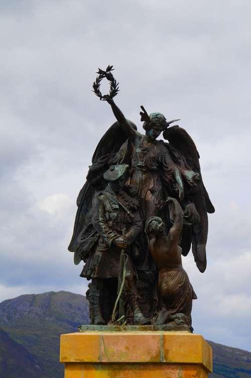Monument Scots Scotland Clan Resistance