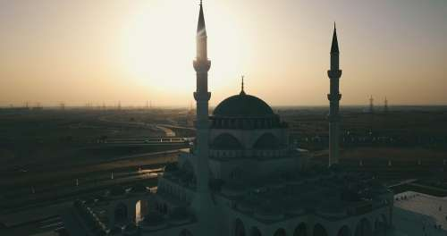 Mosque Sharjah Mosque Sharjah Uae Architecture