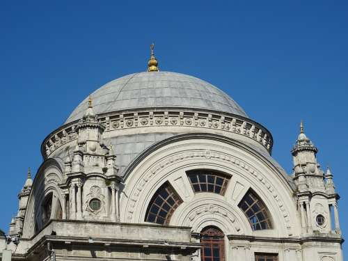 Mosque Istanbul Architecture City Travel Turkey