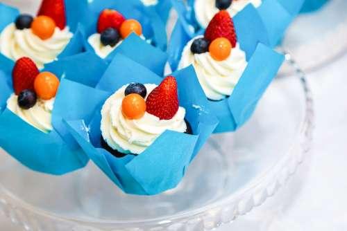 Muffin Dessert Cake Kitchen Baking Berry Home