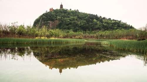 Nantong Wolf Mountain The Scenery Scenery