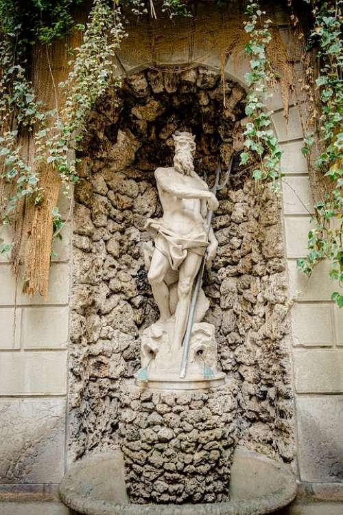 Neptune Orginial Figure Manneken Palace Thun