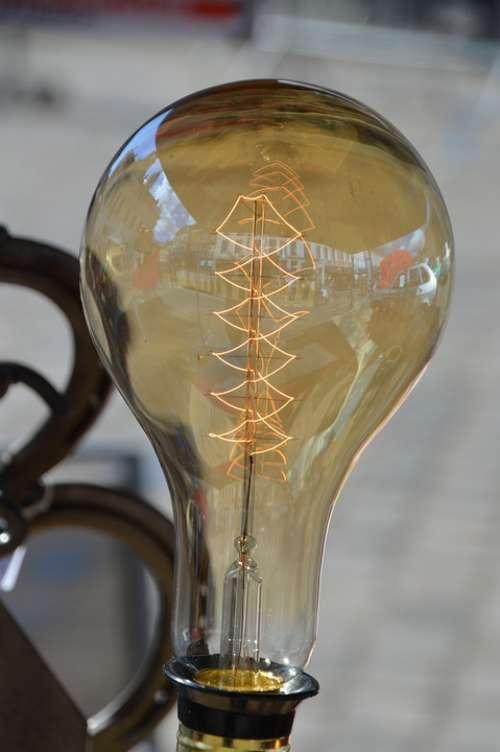 Ornament Decoration Vintage Retro Light Exhibit