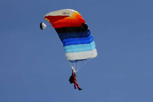 Parachute Flying Paragliding