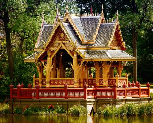 Pavilion Thai Pavilion Architecture Thai Sala