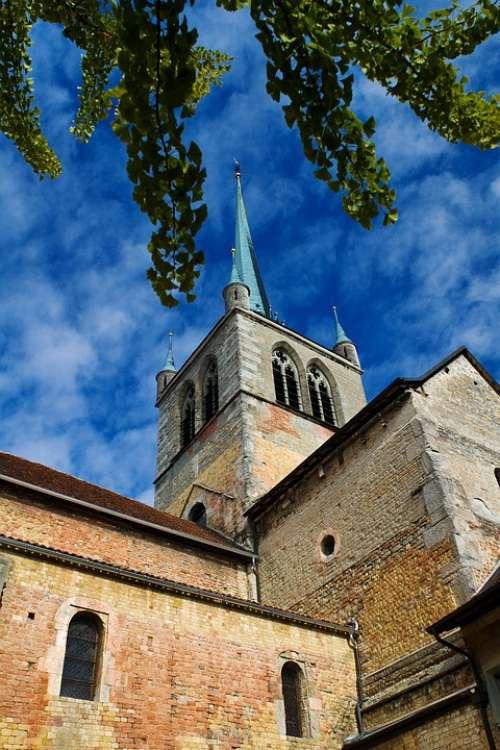 Payerne Vaud Switzerland Church Rhaeto Romanic
