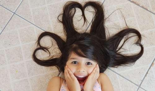 Person Girl Smile Hair Heart Innocence Female