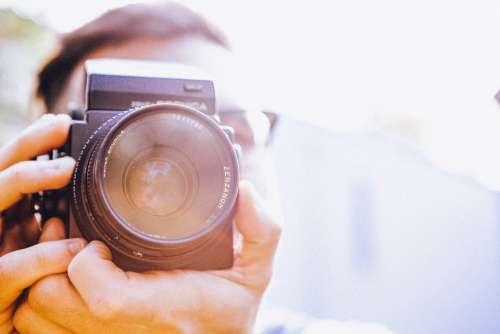 Photographer Photography Digital Camera Dslr Camera