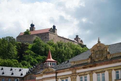 Plassenburg Castle Red Tower Kulmbach