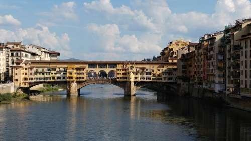 Ponte Vecchio Florence Italy Europe Ancient
