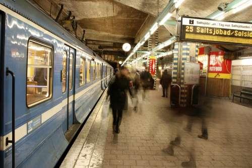 Public Transport Trip Switch Transport Train