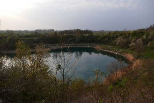 Quarry Water Nature Lake Mood